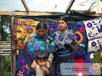 Family of Weavers - Chiapas, Mexico